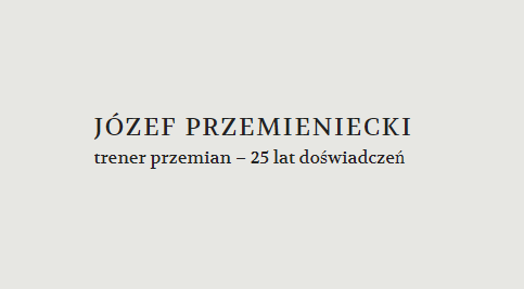 Przemiany.org - Trener Przemian